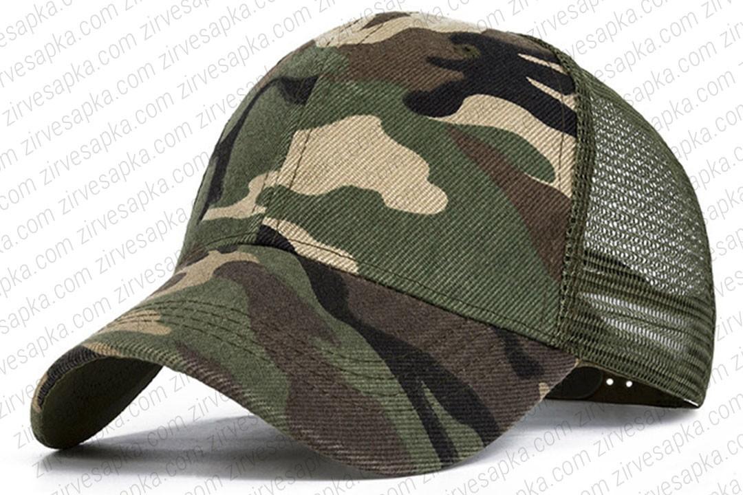 Asker Şapkası Fileli