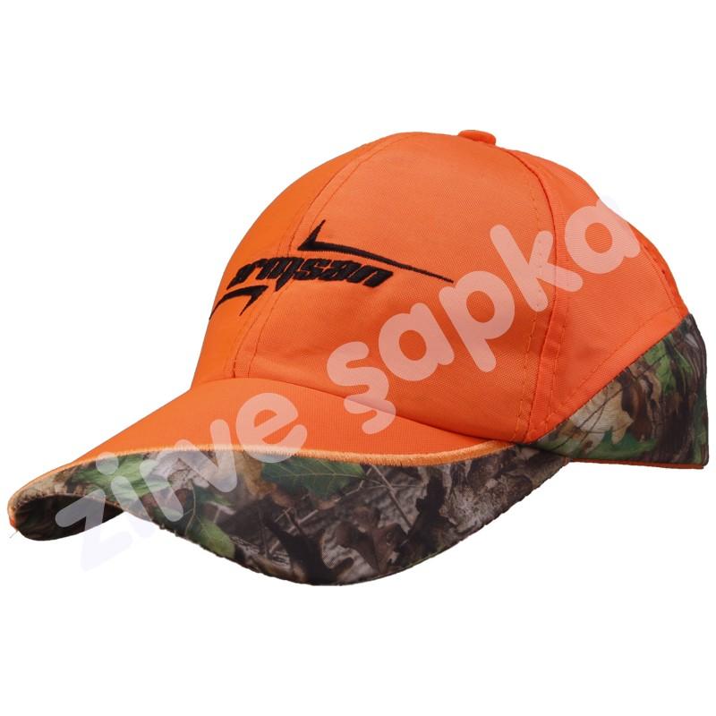 Avcı Şapkası Zirve Model Turuncu