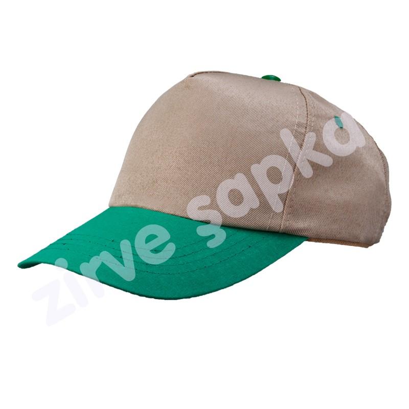 Bereket Şapka Bej - Yeşil
