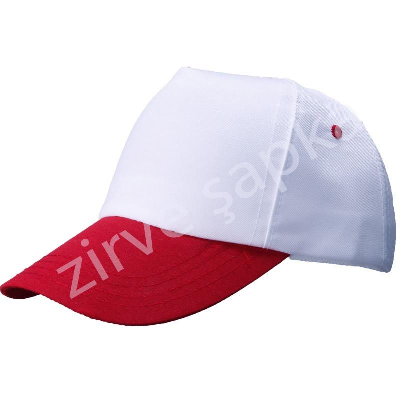 Bereket Şapka Beyaz - Kırmızı