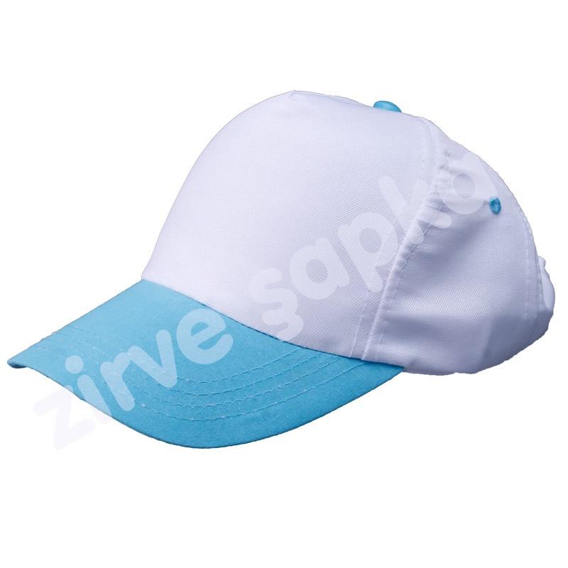 Bereket Şapka Beyaz - Mavi