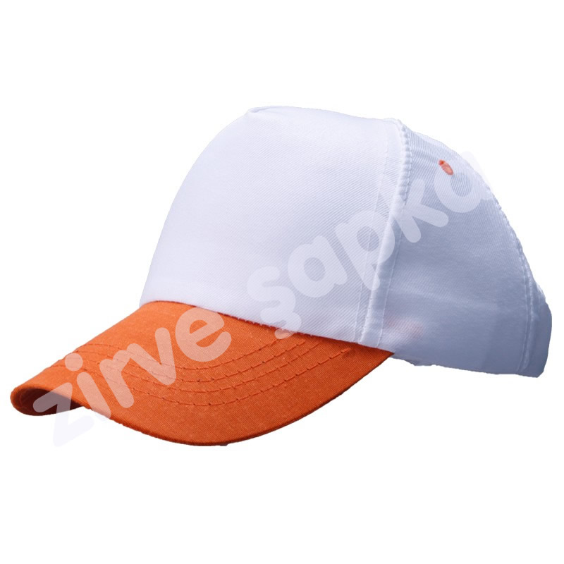 Bereket Şapka Beyaz - Turuncu