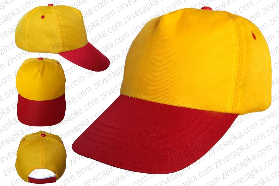 Bereket Şapka Sarı Kırmızı