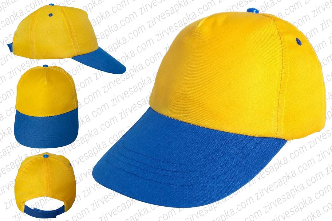 Bereket Şapka Sarı Mavi