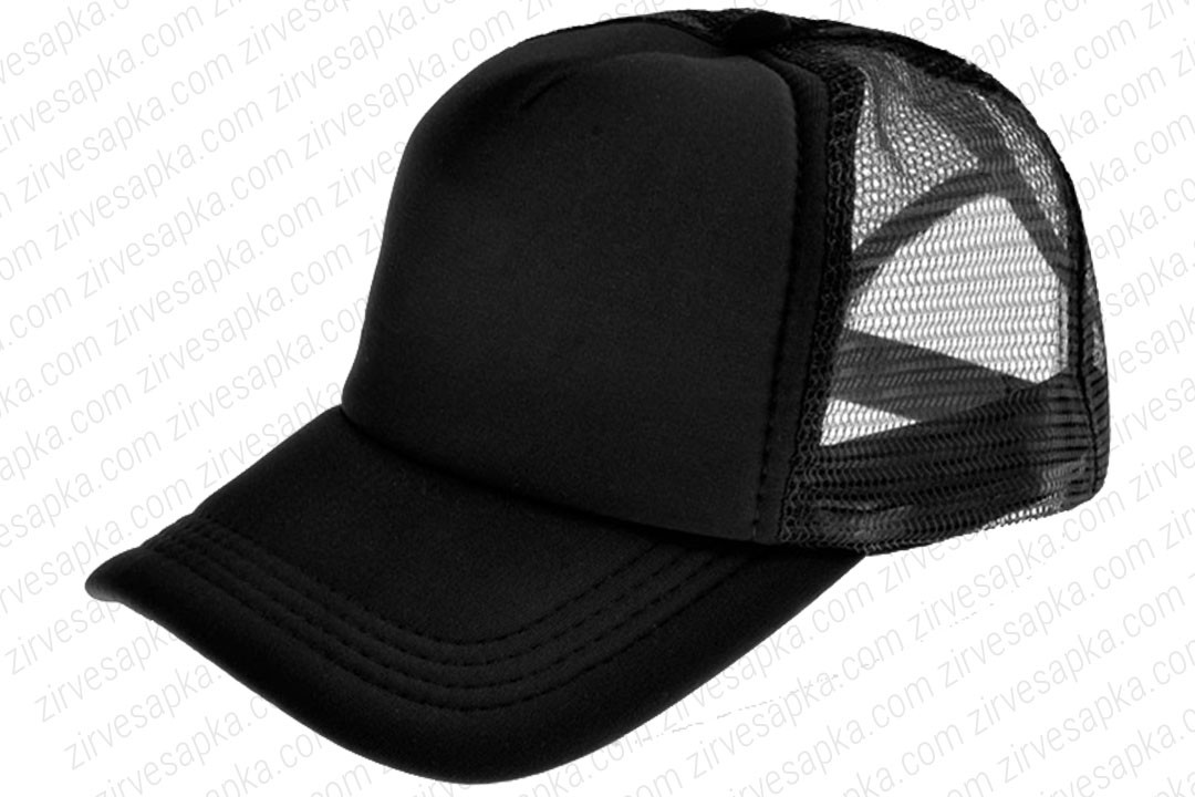 Fileli Şapka Siyah
