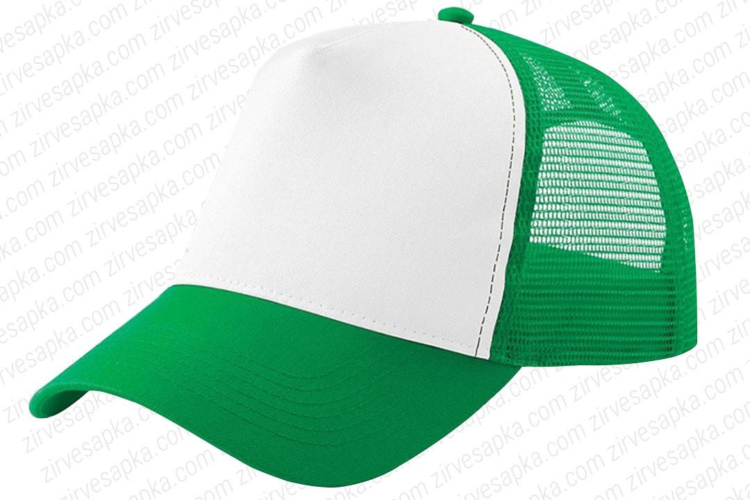 Fileli Şapka Yeşil