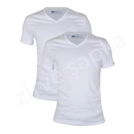Klasik V Yaka Tshirt