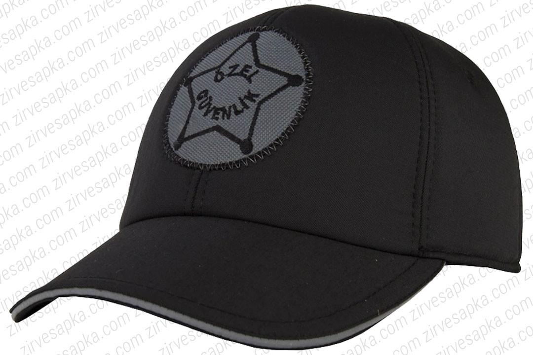 Özel Güvenlik Şapkası Siyah