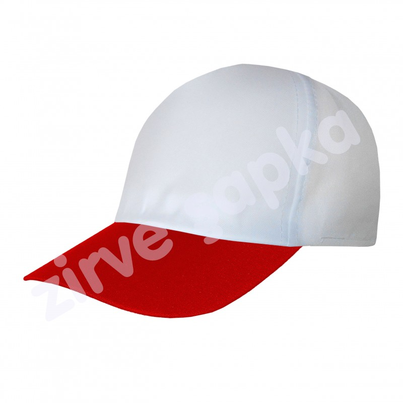 Ortaasya Bereket Şapka - Beyaz Kırmızı