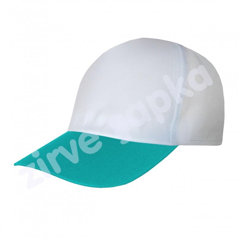Ortaasya Bereket Şapka - Beyaz Turkuaz
