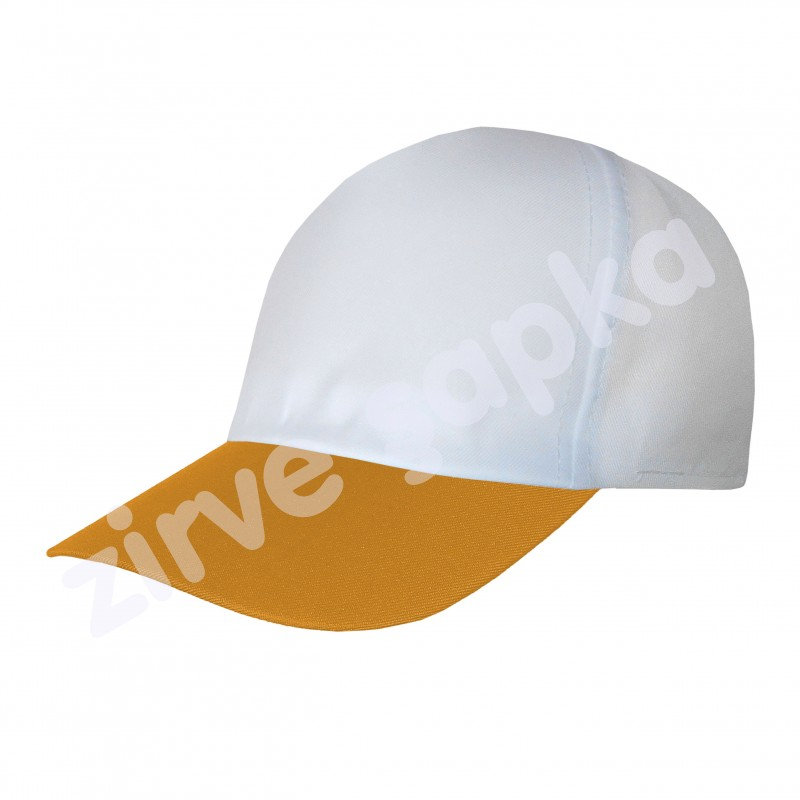 Ortaasya Bereket Şapka - Beyaz Turuncu