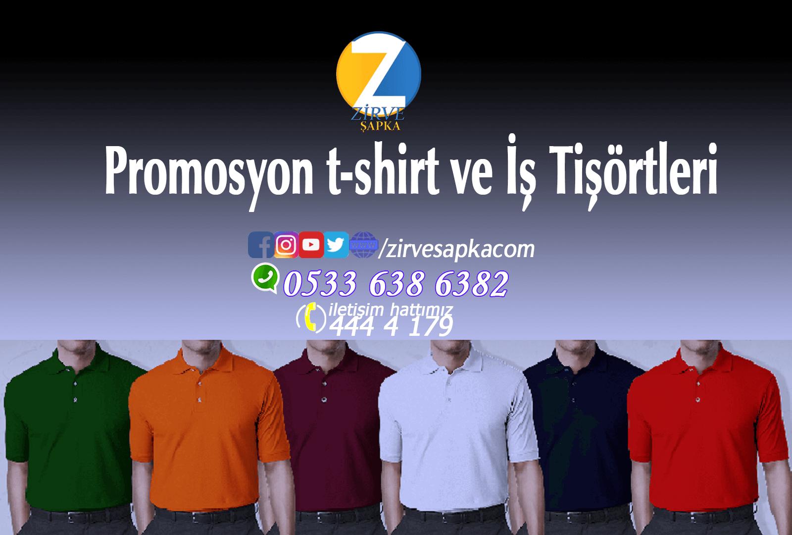 Promosyon t-shirt ve İş Tişörtleri
