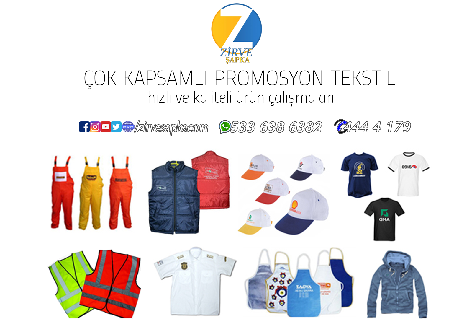 Promosyon Tekstil Çalışmaları