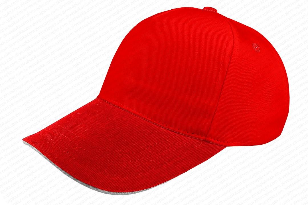 Sandviçli Bereket Şapka Kırmızı
