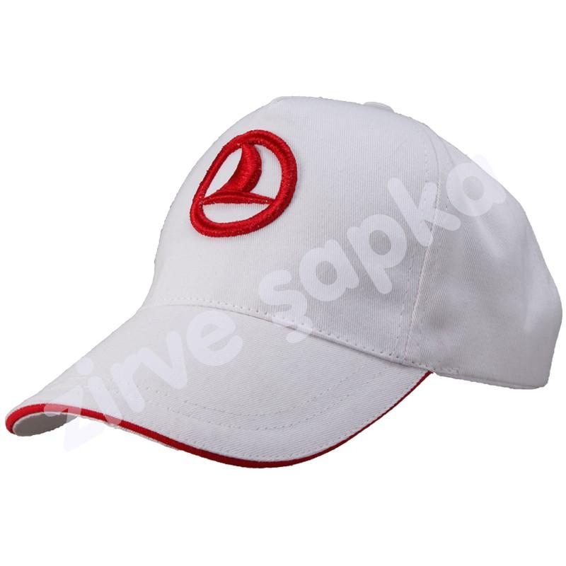 Sandviçli Şapka Beyaz