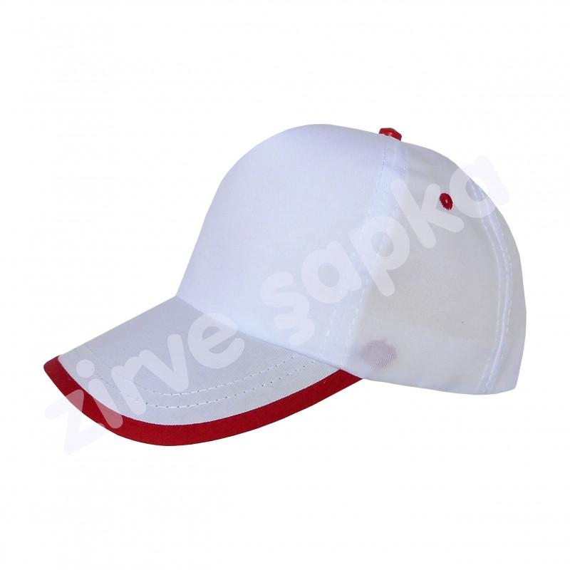 SB Bereket Şapka Beyaz Kırmızı