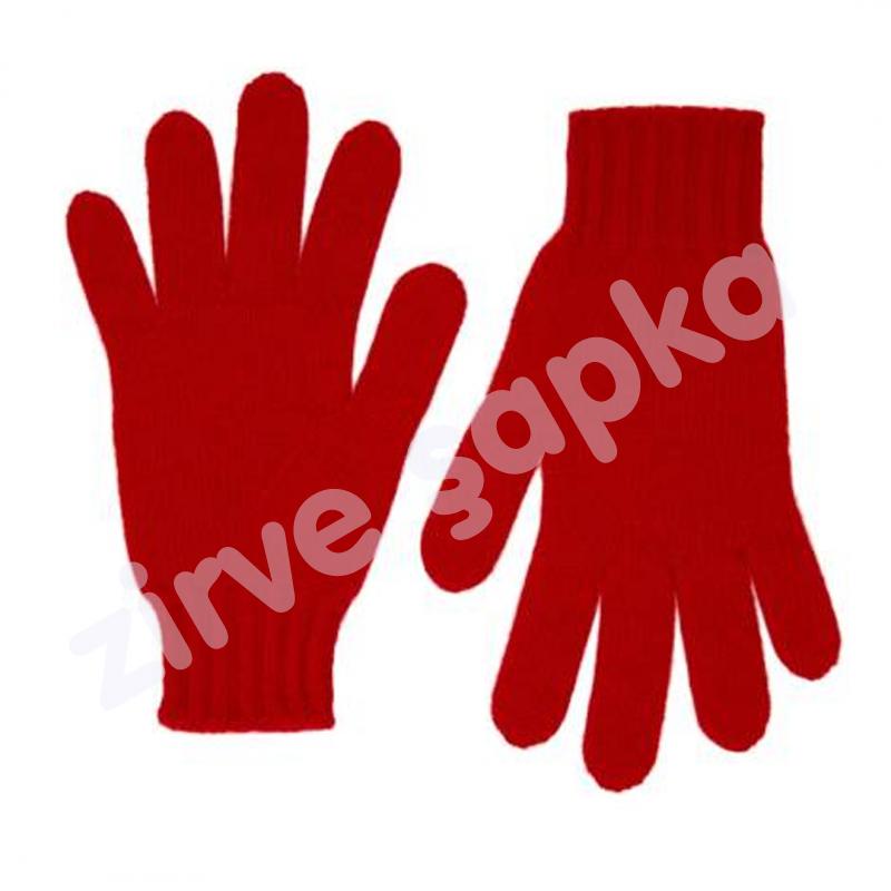 Triko Kırmızı Eldiven
